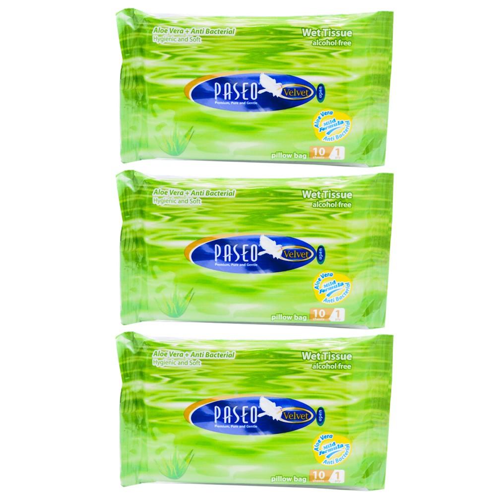 Jual Tissue Basah Paseo Wet Velvet Baby Cahaya Harapan Semesta Tokopedia