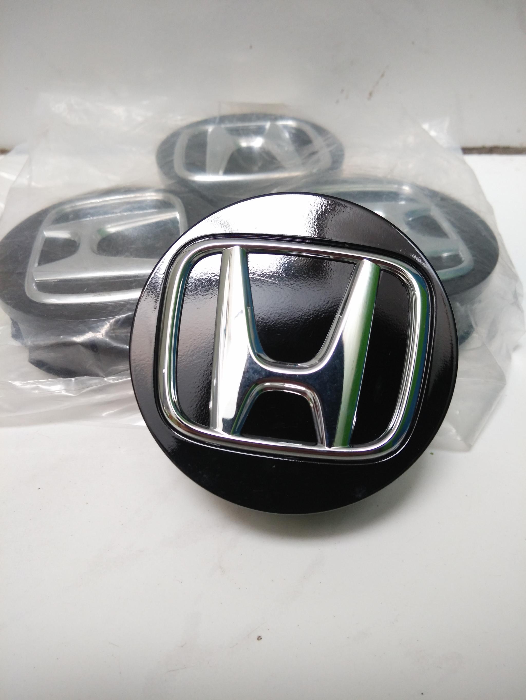 Dop Roda Honda Jazz Rs '08-On (Original, Hitam, Harga /Pc)