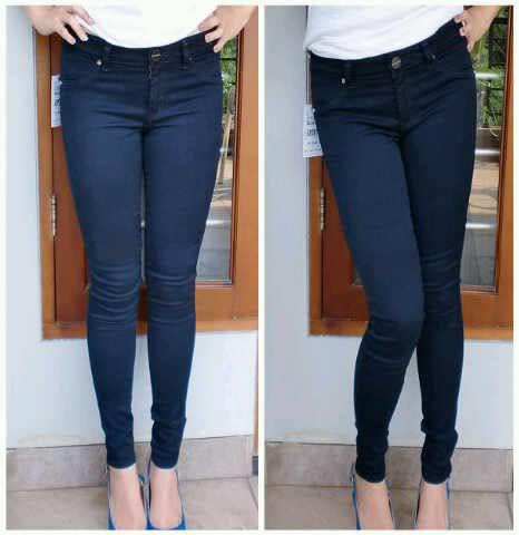 Mj Celana Jeans Wanita Biru Polos Whosan Update Daftar Harga Source · Jual  Celana Jeans Pensil 68d1ac8fdb