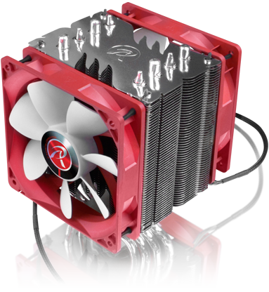 RAIJINTEK THEMIS Evo DUAL FAN NEW