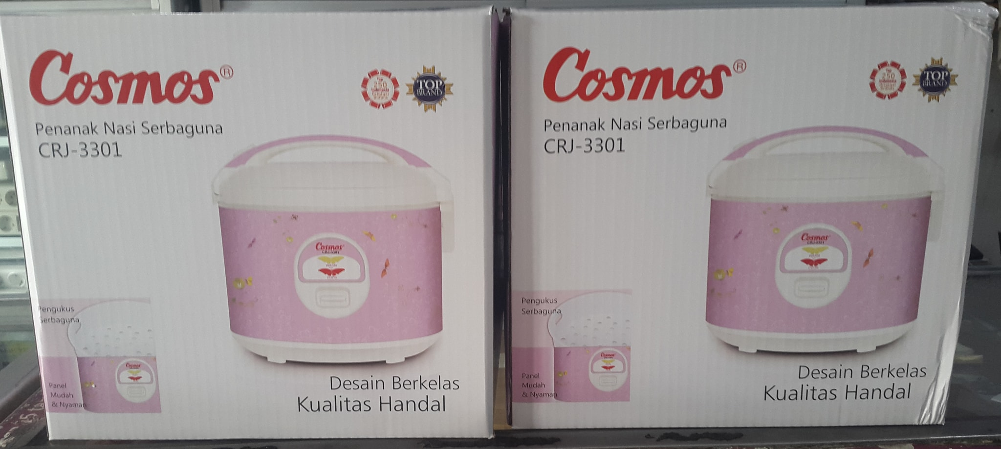 Jual Magic Com Cosmos Crj 3301 Cr Kosambi Tokopedia Rice Cooker