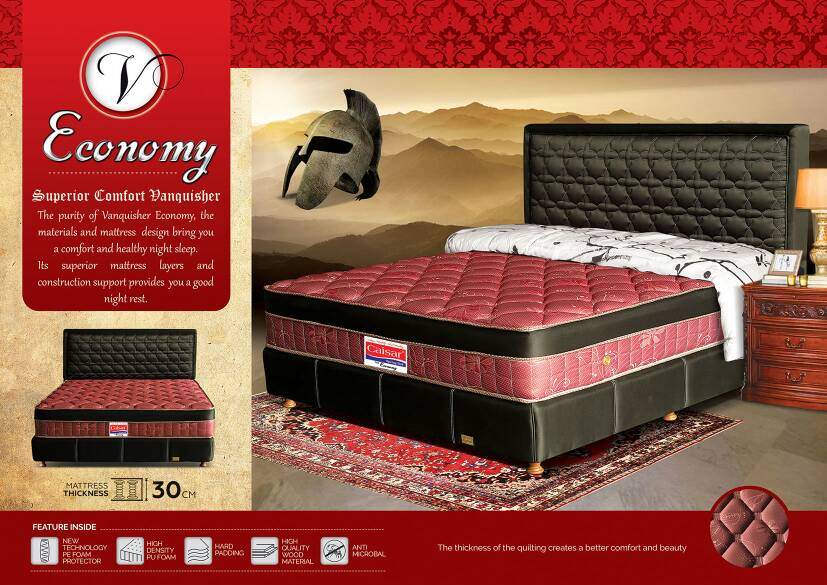Jual Spring Bed Caisar New Vanquisher Economy