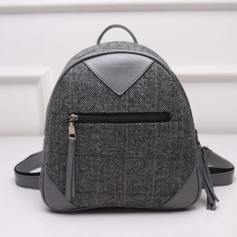 tas ransel backpack mungil import kain wanita jalan kuliah sekolah 83fd04f128