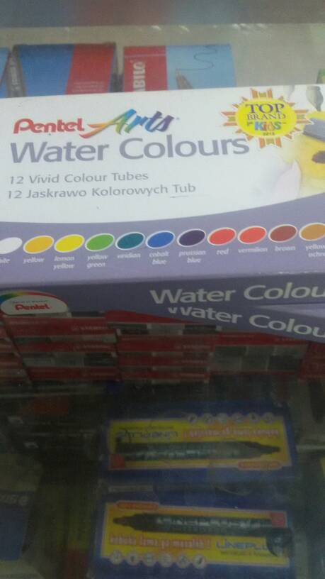 Water Colours Pentel Arts 12 Warna