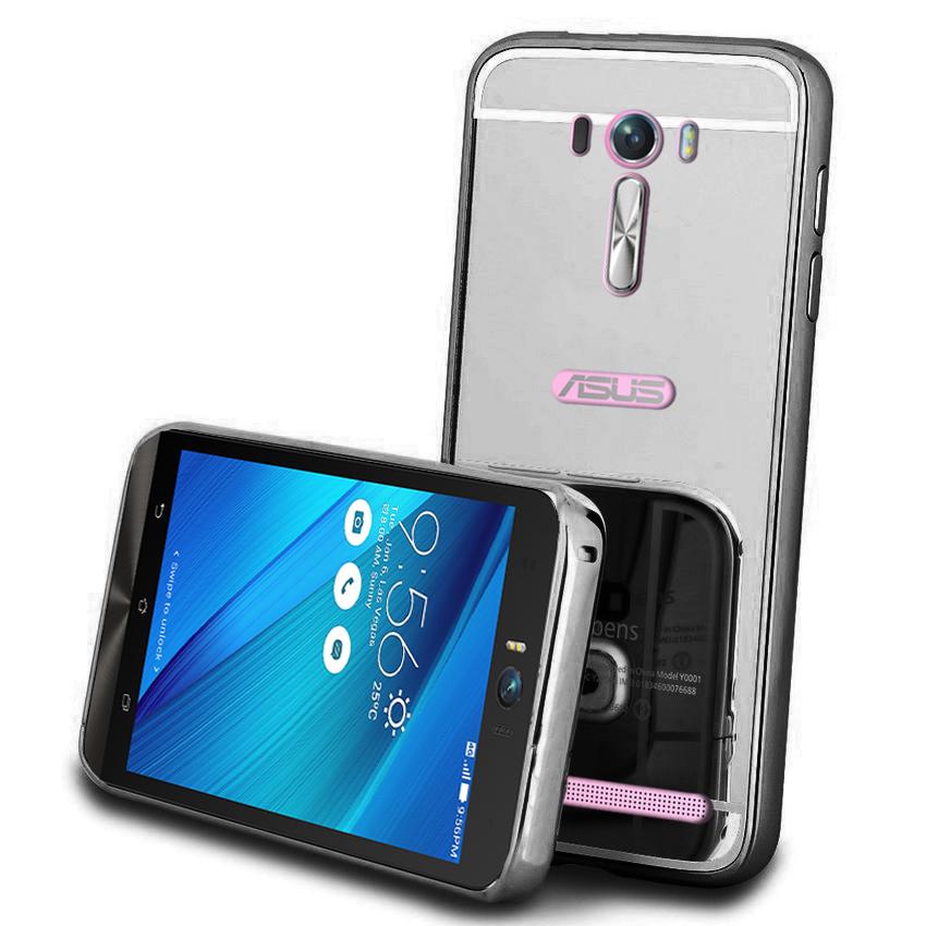 Case Samsung Galaxy Z2 Bumper Mirror Slide Silver Tempered Glass Source · Jual Case for Asus Zenfone 2 Laser 5 with Bumper Backcase Mirror Sliding Gadget ...