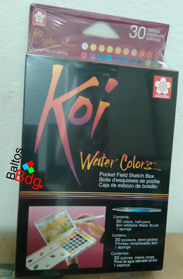 SAKURA Koi Watercolor 30 Colors Set / Cat Air Sakura Koi 30