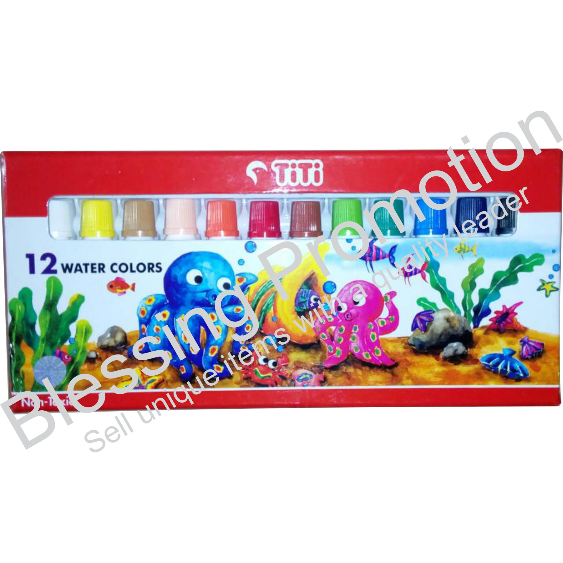 TITI Water Color WC-6 ML - 12 (12c)
