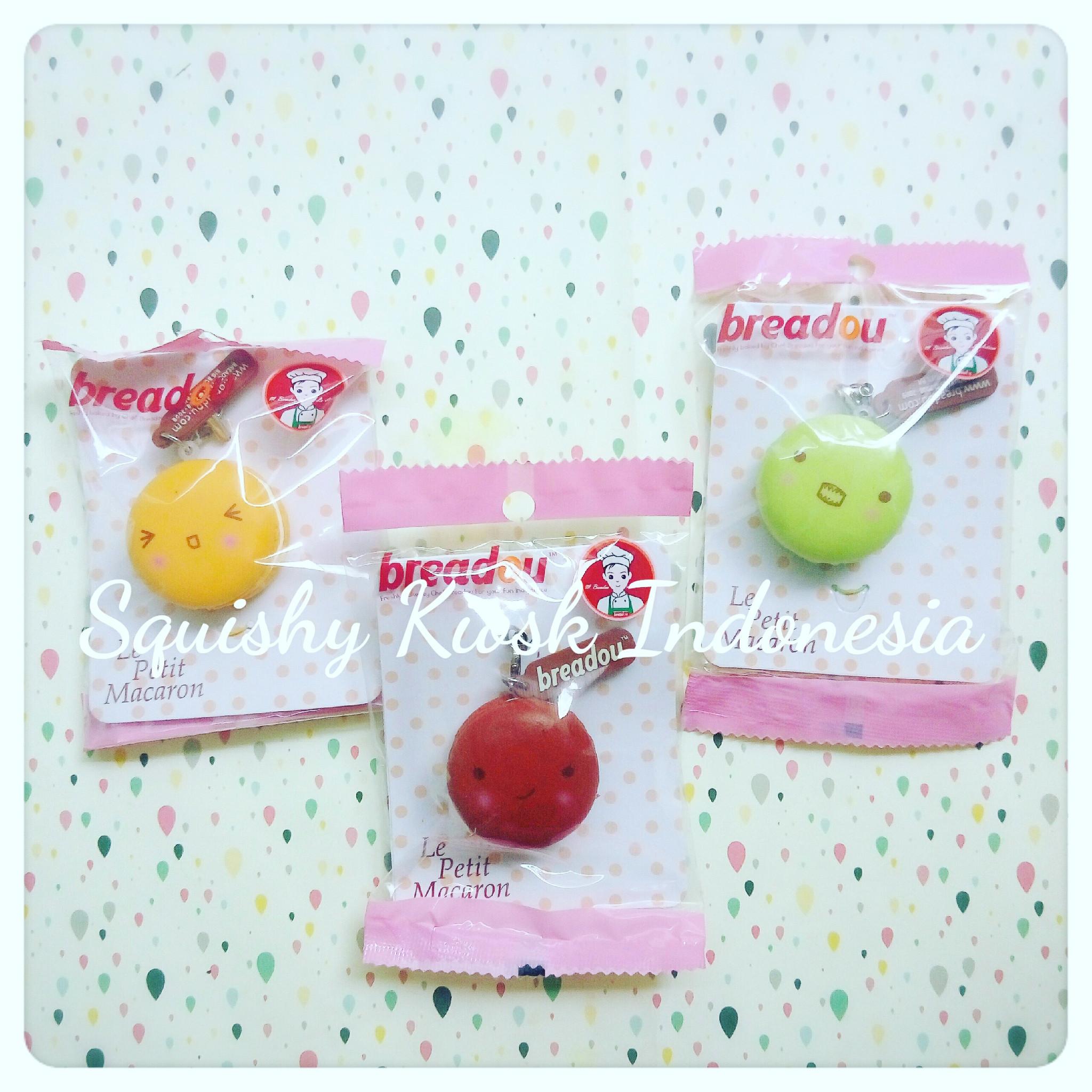 Breadou Squishy Tag : Jual Breadou Le Petit Macaron Squishy (keychain/toy) - Squishy Kiosk Indonesia Tokopedia