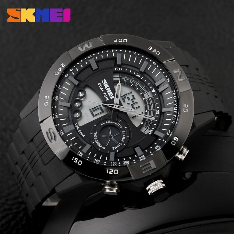 Jam Tangan Water Resist Original SKMEI Model Casio G-shock Pria Led