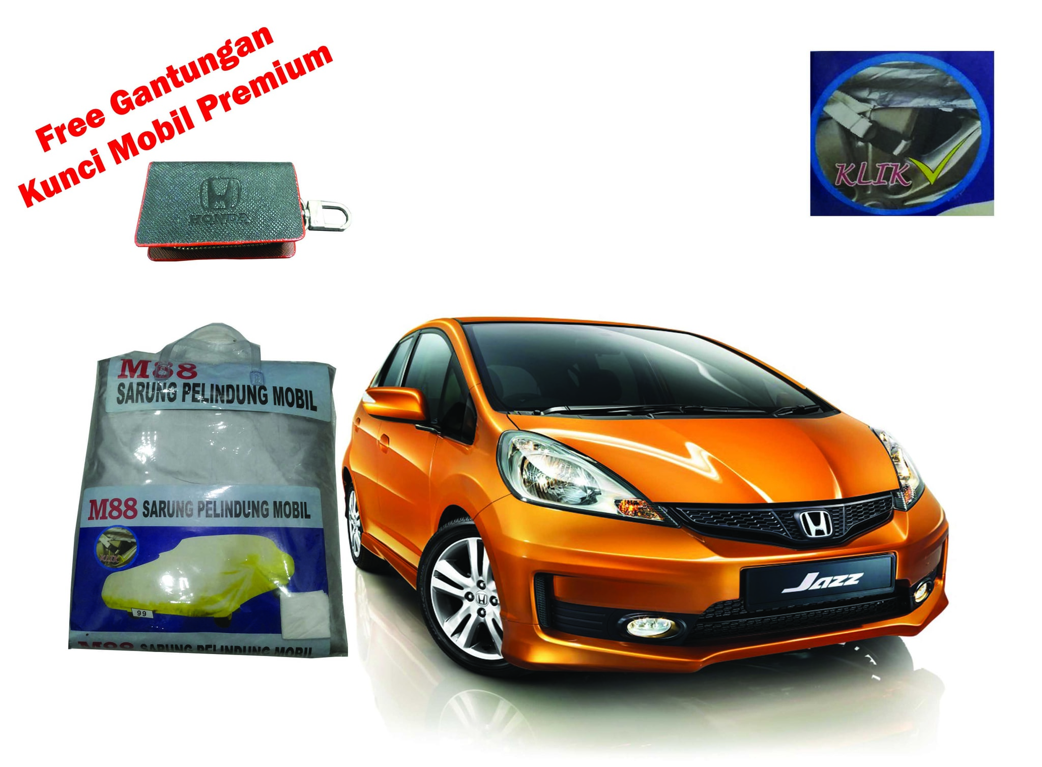 Cover mobil / Bodycover / sarung mobil Honda Jazz