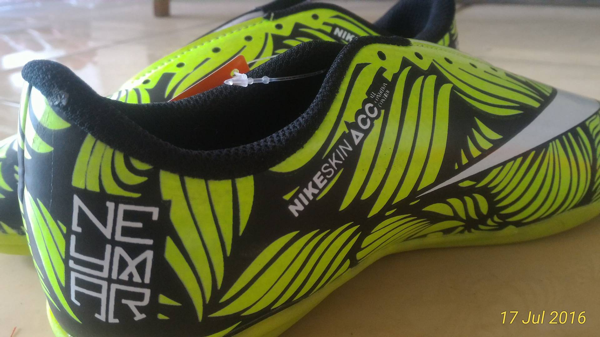 Jual Sepatu Futsal Anak Nike Hipervenom Neymar Ousadia Alegria Hijau Kids SOCCER FEVER