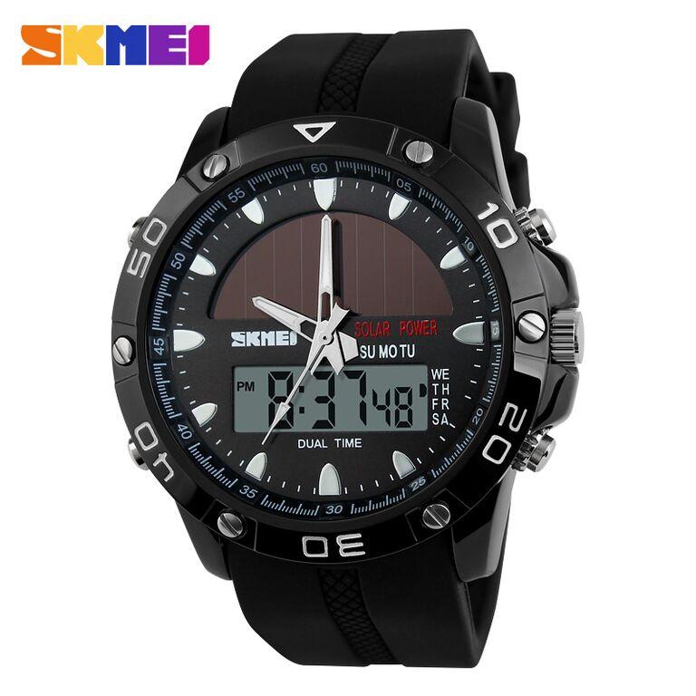 Original SKMEI Anti Air Casio Sport LED Watch - Jam Tangan Pria Keren