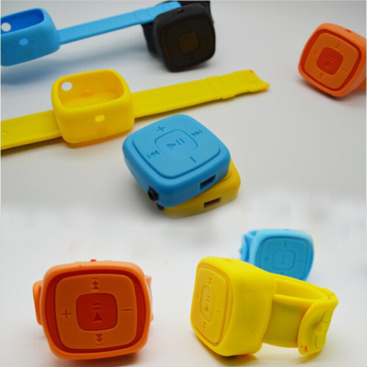 Mp3 Jam Tangan Mini Watches Mp3 Player Micro TF Card