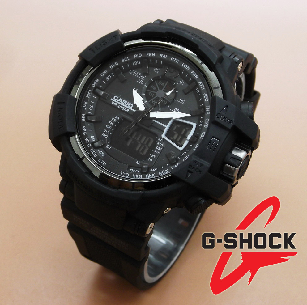 Casio G-Shock GWA-1100 (Full Black)