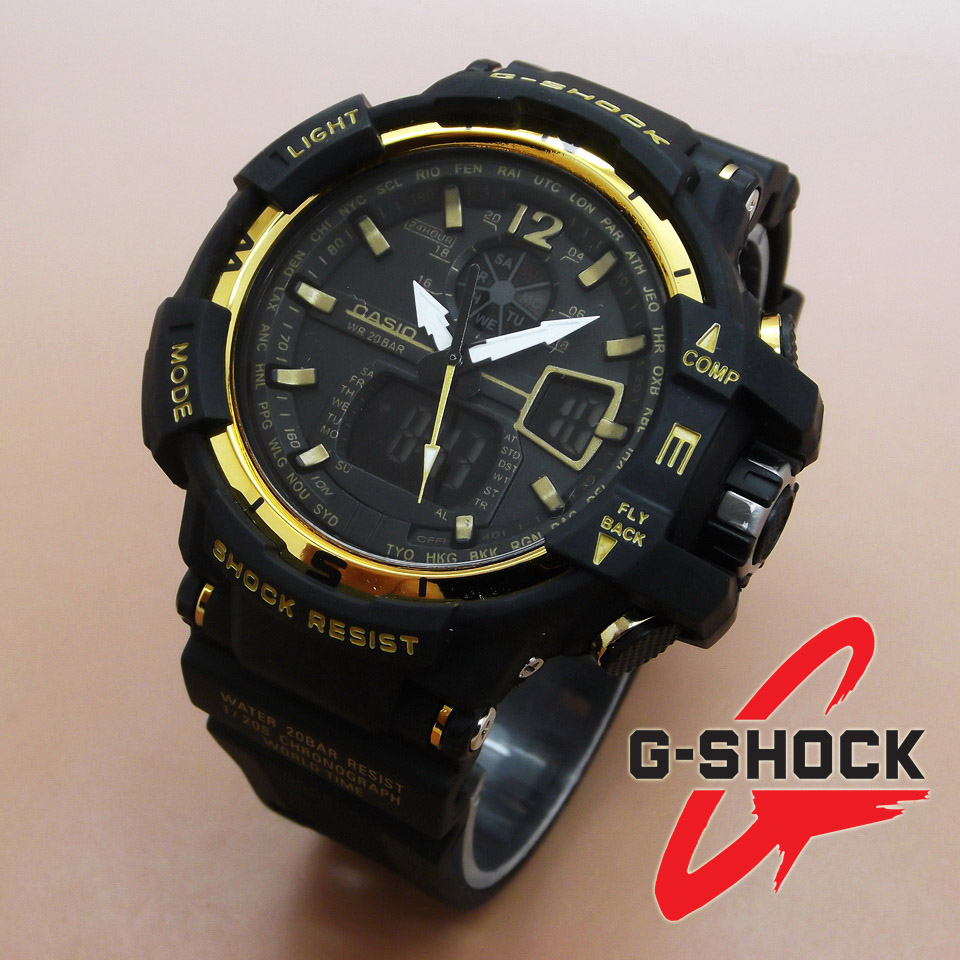 Casio G-Shock GWA-1100 (Black Gold)