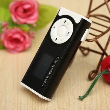 Mp3 Player Dengan Speaker Internal, MircoSD Slot, LCD, Senter