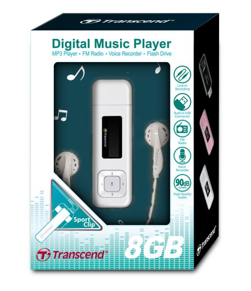 Transcend MP3 Player MP330 Audiophile High Quality DAP BNIB - Black