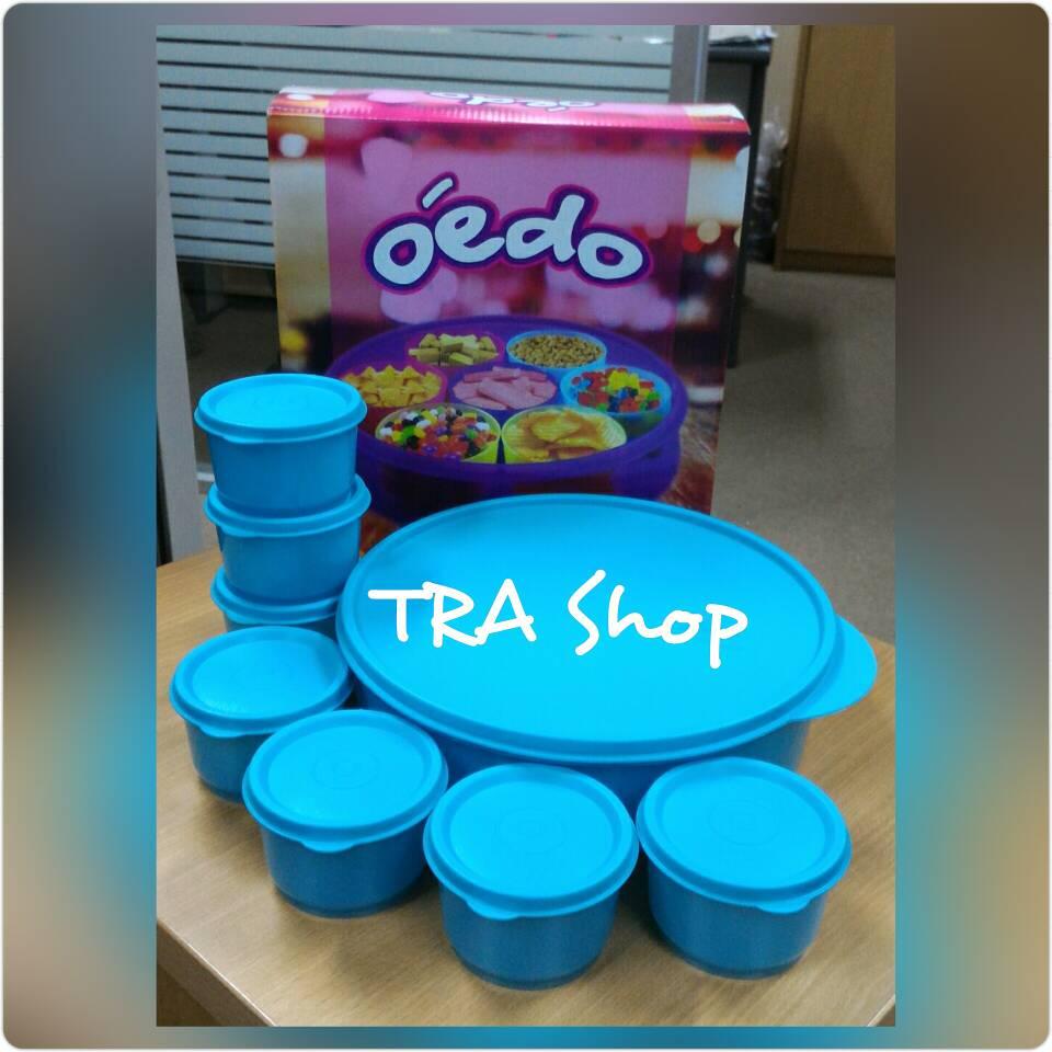 Jual Calista Oedo 8 Circle Container Warna Hijau Tosca Tra Shop Kootak Maakan Tokopedia