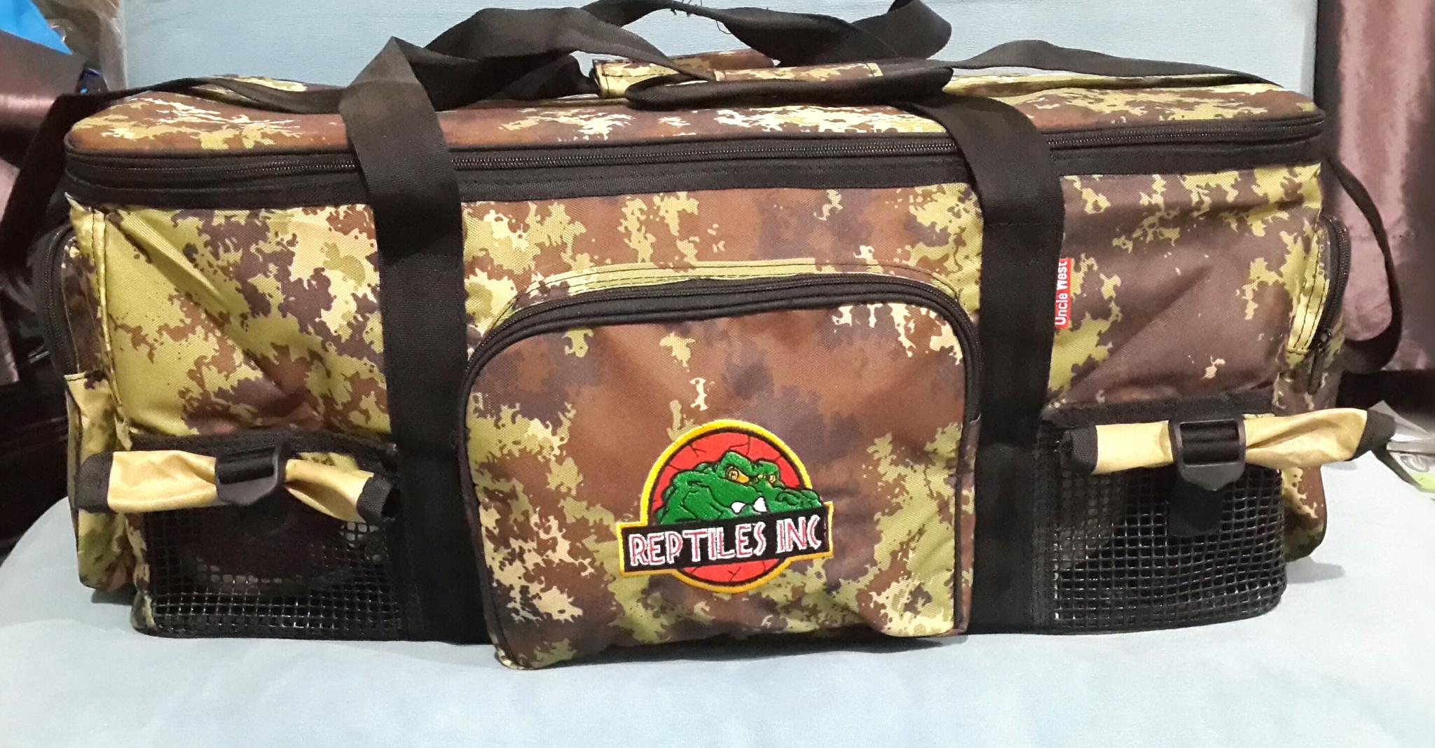 Jual Tas Reptil Large Motif Army Hijau (Model travel bag) - Reptiles ... 3f38f9e4c0