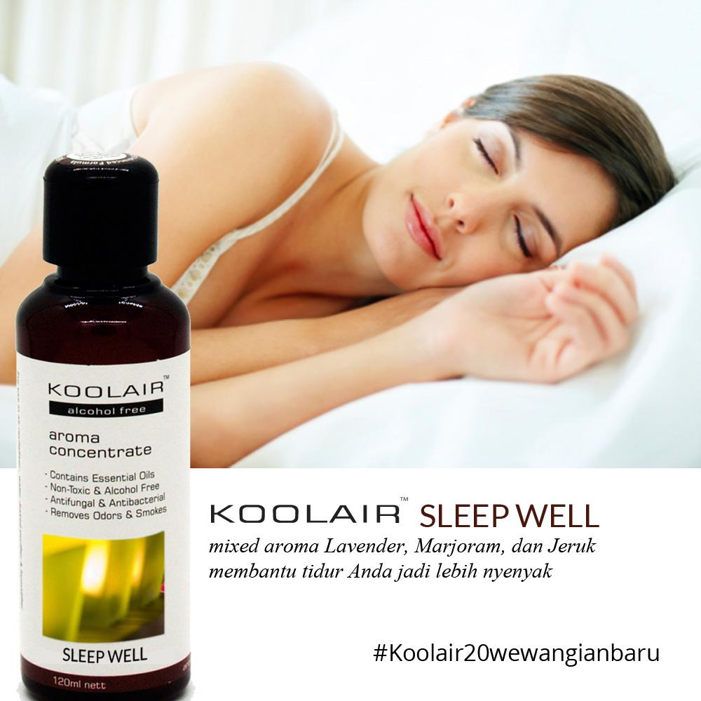 ... Koolair Aroma Solution 120ml Sleepwell Daftar Update