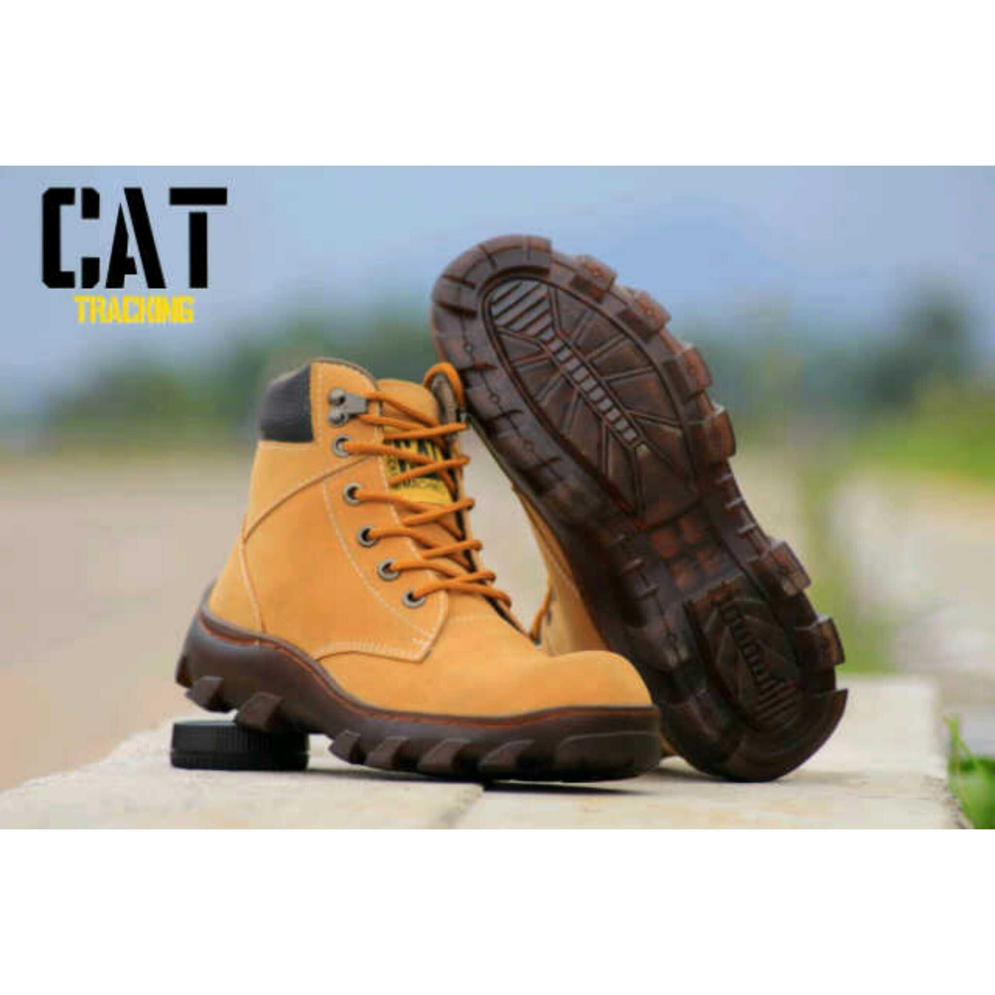 Jual Sepatu Caterpillar Sepatu Boot Pria Terbaru Sepatu Kulit 9db8d88f00