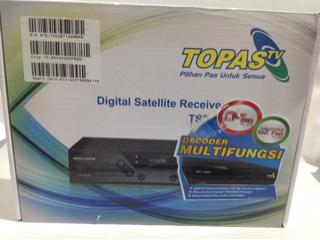 RECEIVER HD TOPAS TV