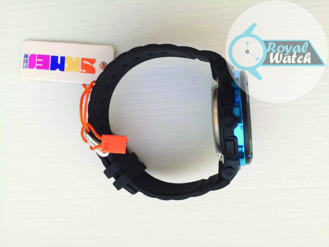 SKMEI DG1096 Biru Jam tangan pria LED