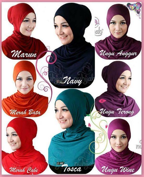 Ciput Ninja Antem/inner/daleman jilbab hijab