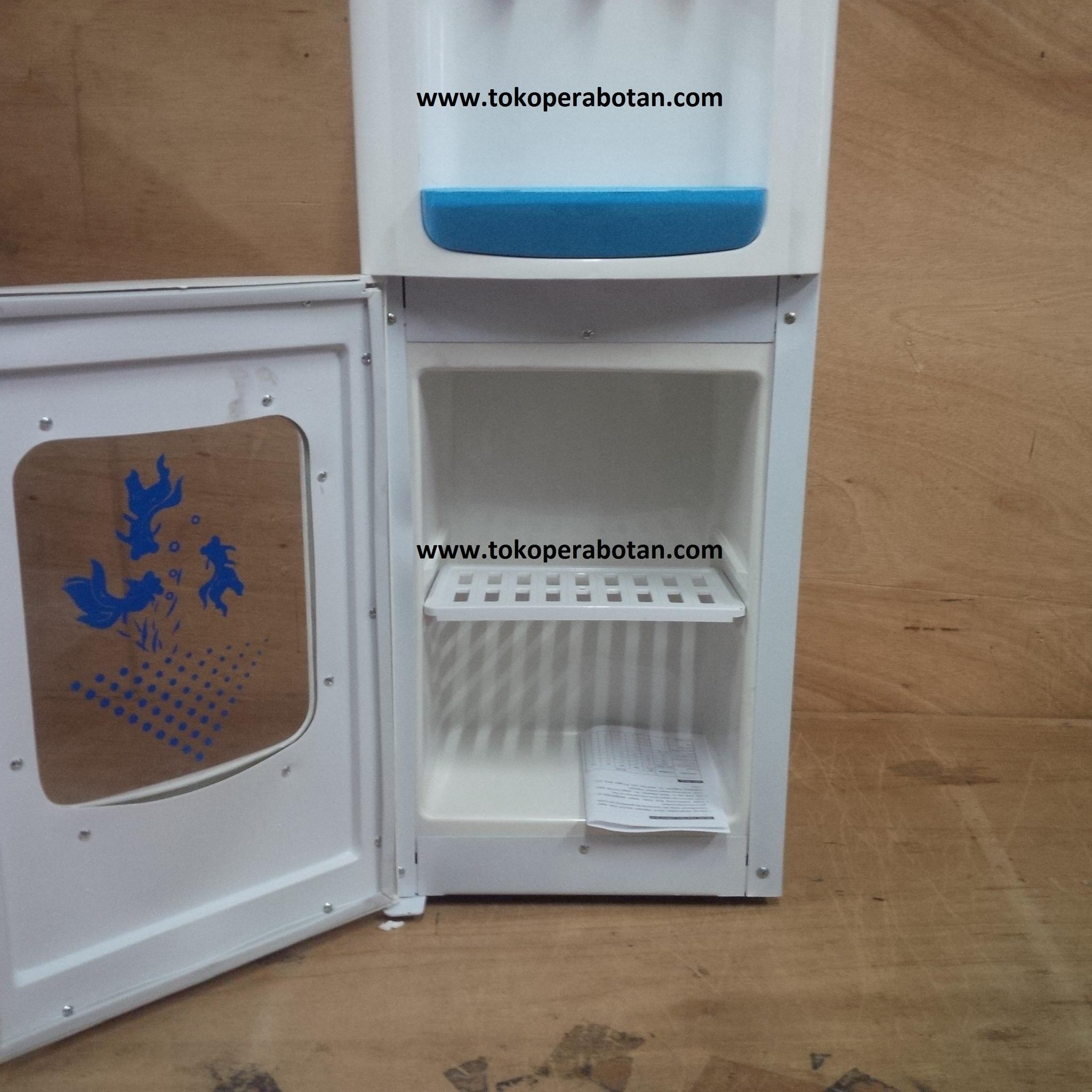 Sanex D 302 Dispenser Tinggi 3 Kran Panas Normal Dingin Putih Galon D102 102 Hot Dan Garansi