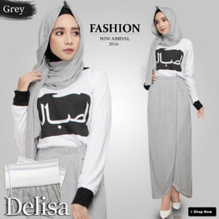 hijab delisa 3in1