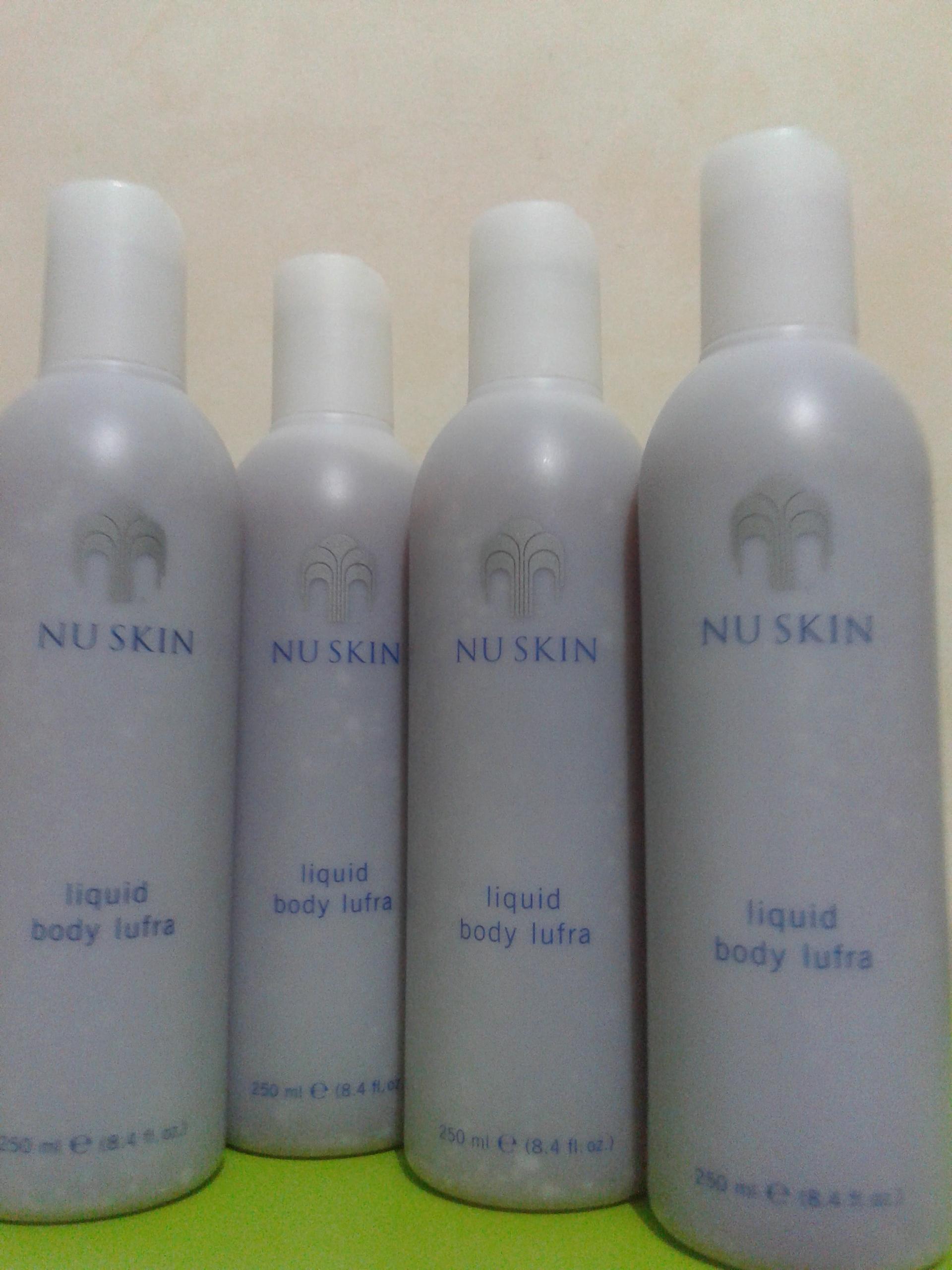 Jual Sabun Cair Scrub 250ml Dhafin Line Tokopedia Liquid Body Lufra