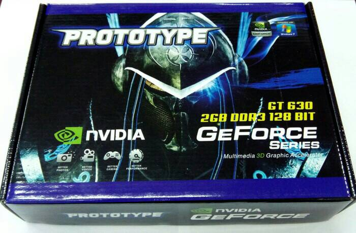 VGA CARD NVIDIA GEFORCE PROTOTYPE GT630 2GB DDR3 128BIT murah