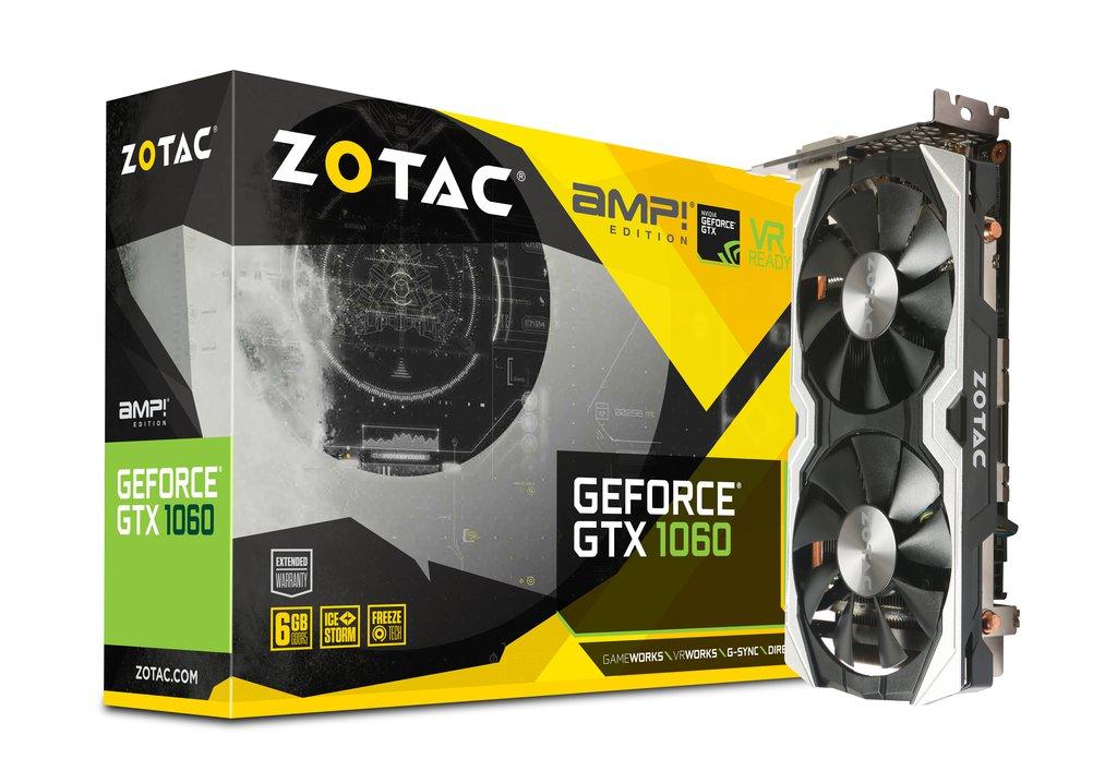 VGA Card Zotac GTX 1060 AMP 6Gb DDR5 murah