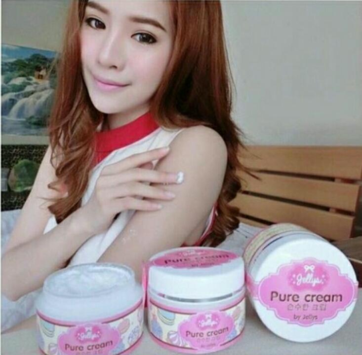 ... Jual Jellys Pure Cream by Jellys Original Thailand 100 Pusat Belanja Grosir Tokopedia