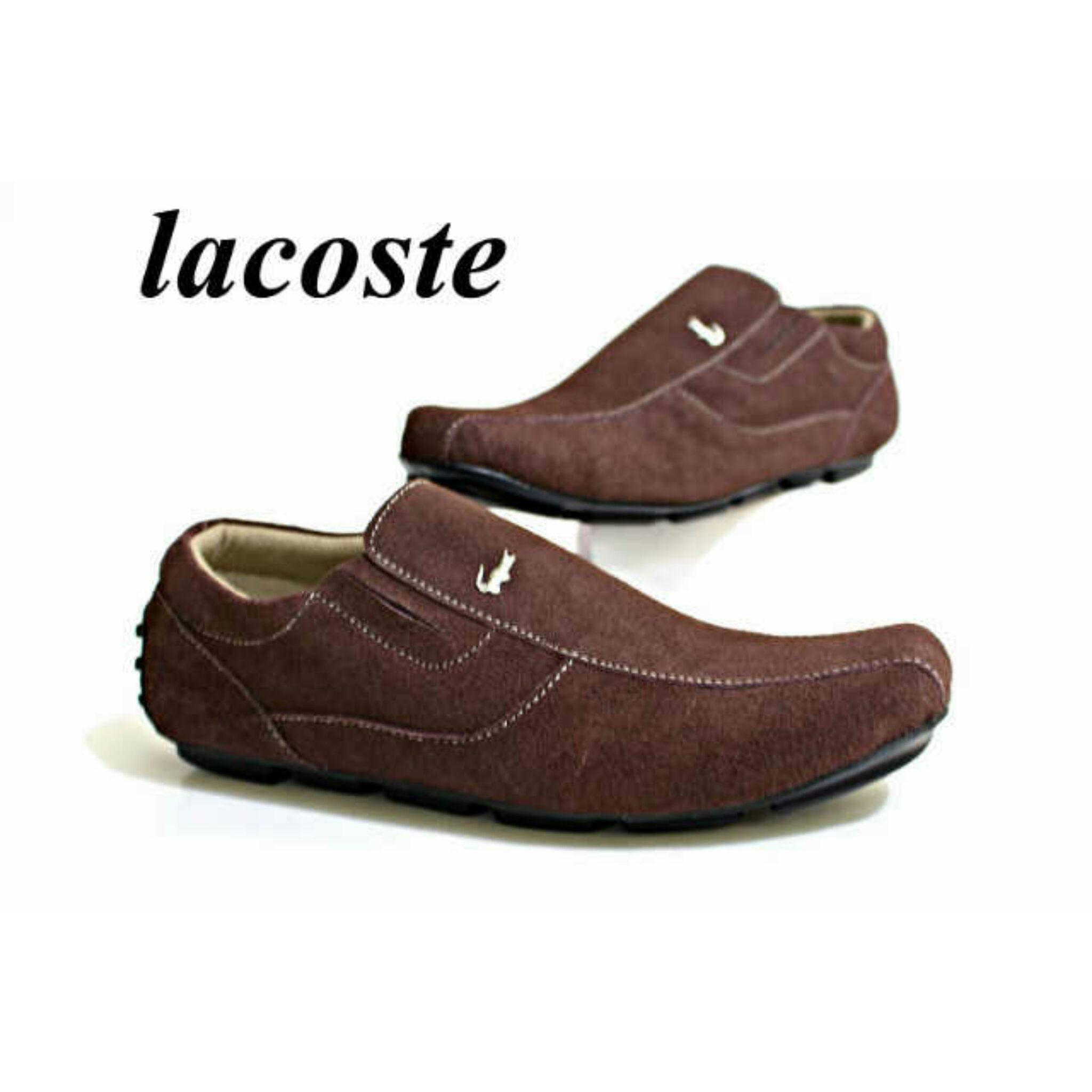 Jual Sepatu Pria Lacoste Terbaru Kulit Asli Sepatu Pria e70b6144f8