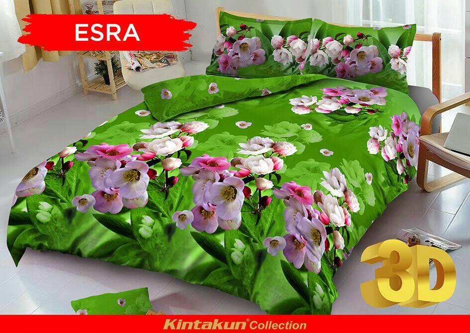 Jual Bed Cover set Kintakun D'luxe Queen 160 / King 180 ESRA - WenzShop | Tokopedia