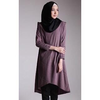 Baju Hijab Murah Soraya Ungu