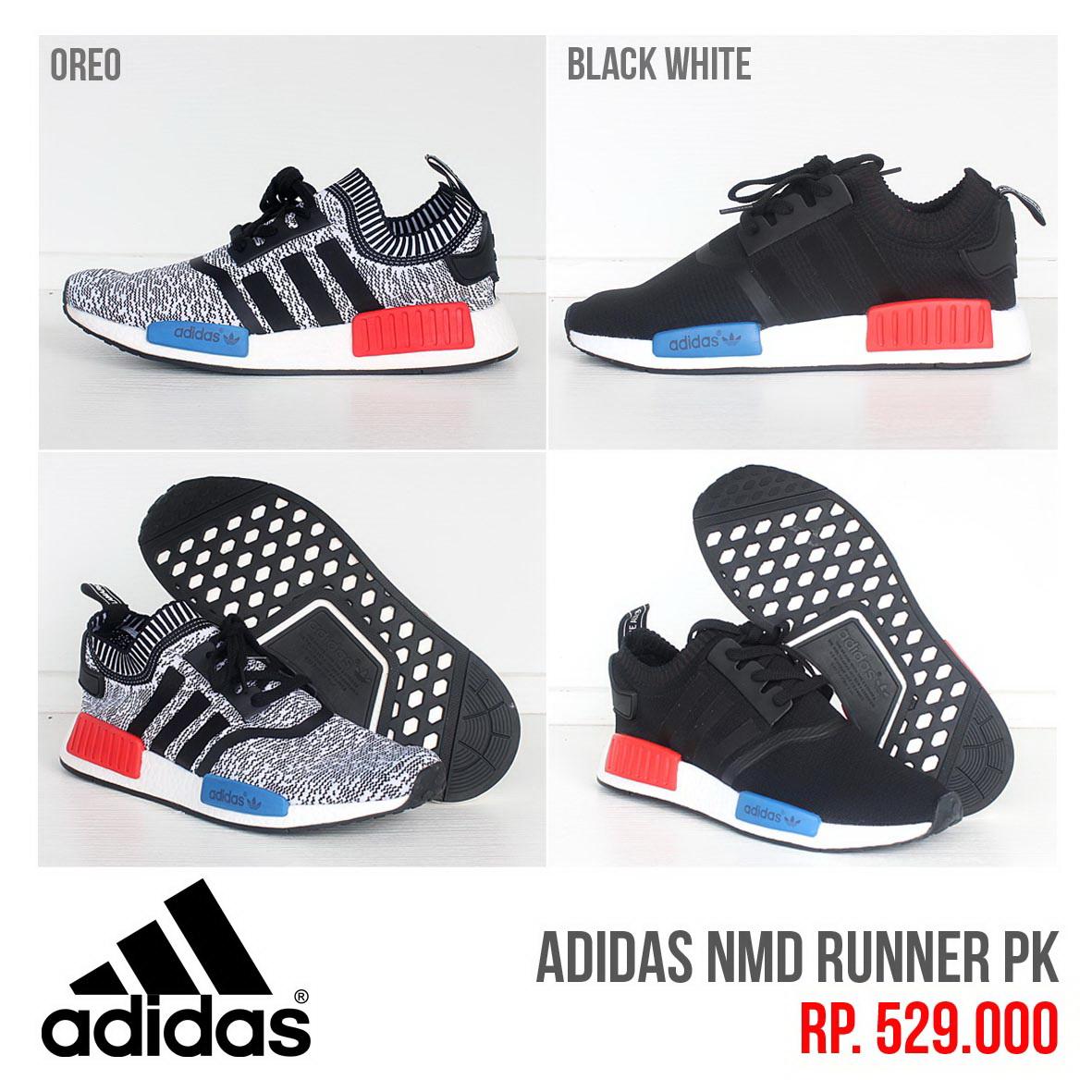 16bc64513 ... official store jual jual sepatu adidas nmd runner black grey geek  sneakers tokopedia 1984b 52247
