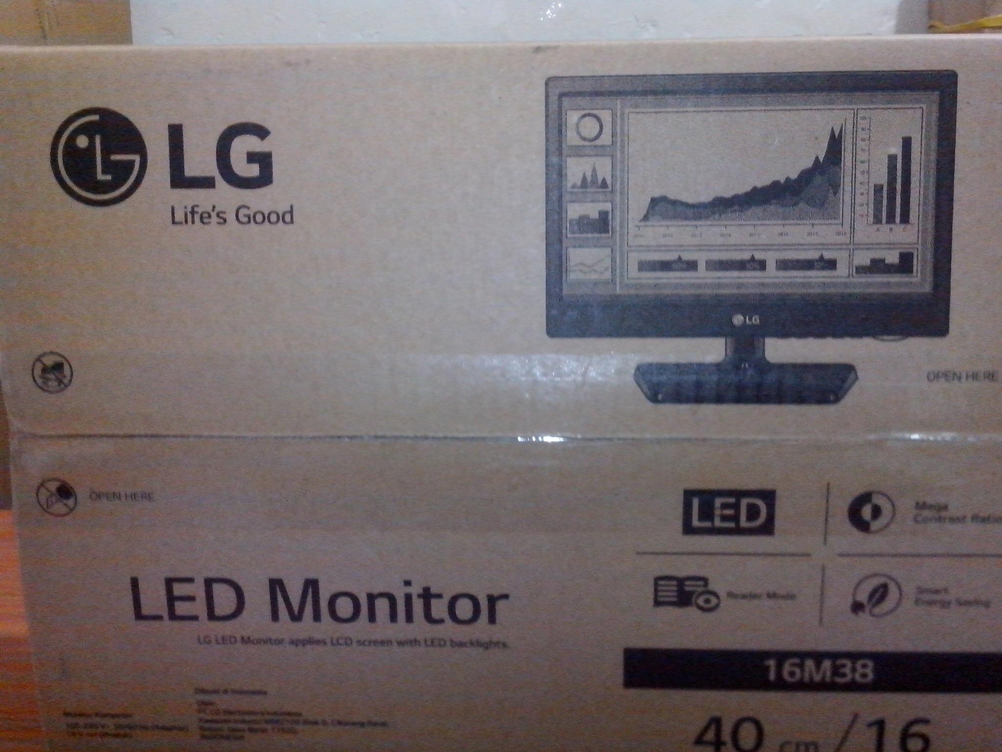 Jual Beli Led Tv Monitor Lg 24mt48af Cocok Untuk Samsung 24h4150 24 Khusus Jabodetabek Update 16inch