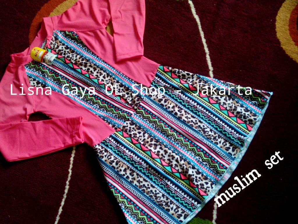 Baju Renang Muslim Set - Anak/ Baju Renang Hijab