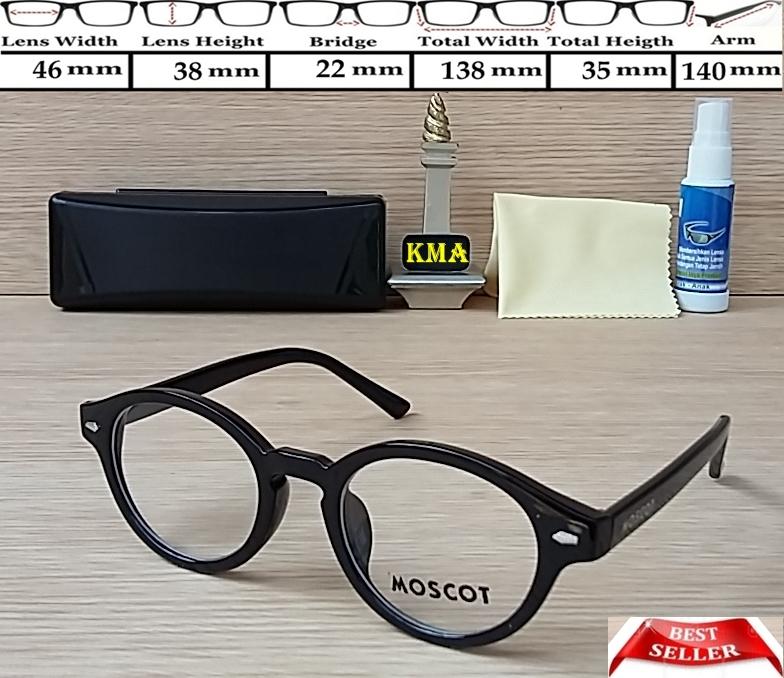 Jual kacamata minus   frame moscot   frame bulat   kacamata moscot ... dd5ab80745