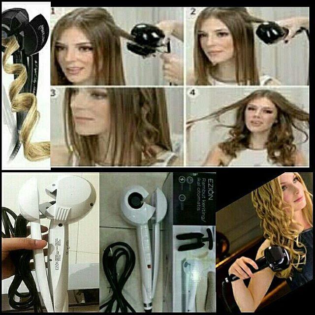 ... Auto Curler Pengeriting Otomatis Catok Source Catok Rambut Instyler Tulip Keriting Ikal Daftar. Source · Jual Ezion(rambut keriting/ikal .