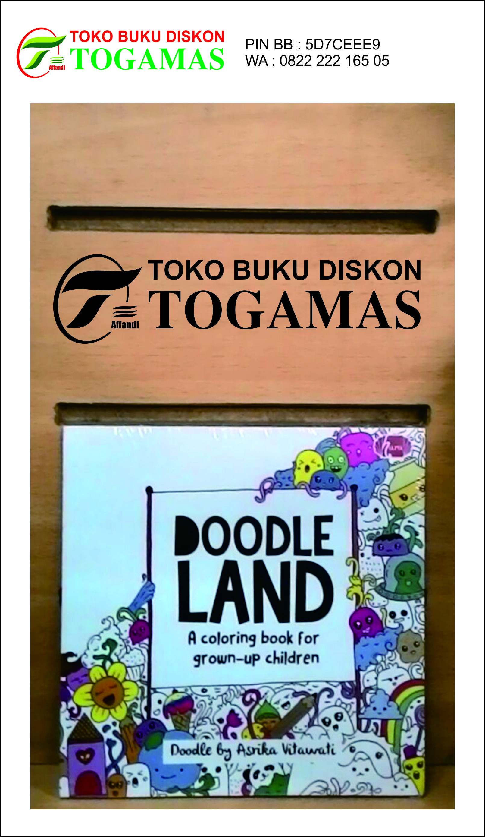 Jual Coloring Book Doodle Land