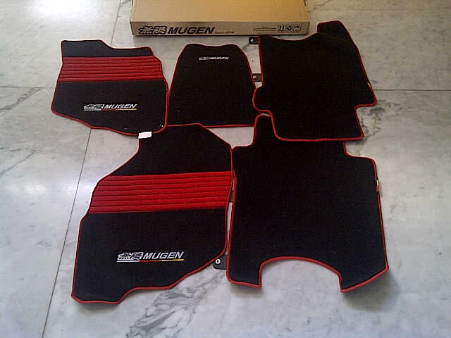 Karpet Mugen Full Set ( Jazz Ge8, Civic Fd, Jazz Gd3 )