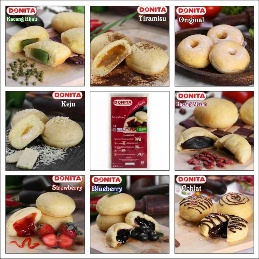 Jual Donat Kentang Donita Frozen Food Cemilan Enak Halal Plaza Jakarta Tokopedia