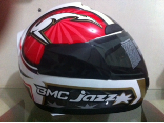 Helm BMC jazz murah