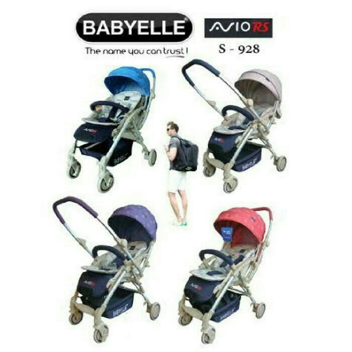 stroller BabyElle Avio Reversible Beige