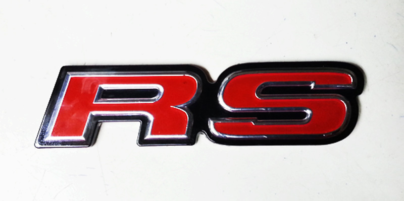 Emblem Rs Belakang (Rear) Honda Jazz Rs Tahun 2008-2013 Model Original