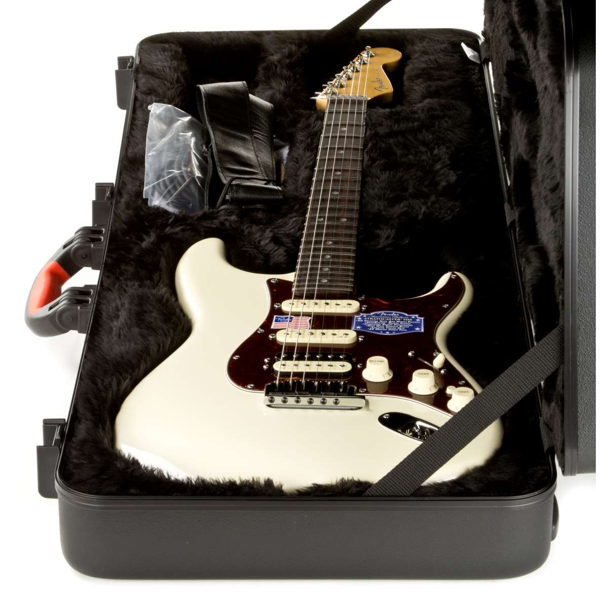Fender American Deluxe Strat Hss Rw Olympic Pearl White Best Wiring Diagrams Mirage Speakers Diagram Stratocaster Guitarra Eltricas De