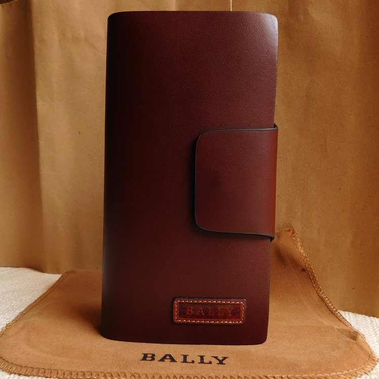 Jual DOMPET PRIA KULIT IMPORT BRANDED - BALLY 023-2349  BROWN - KULIT IMPORT   4940f82bbc